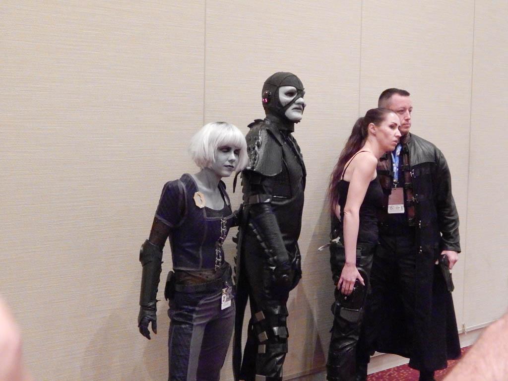 Chiana, Scorpius, Aeryn & John from Farscape