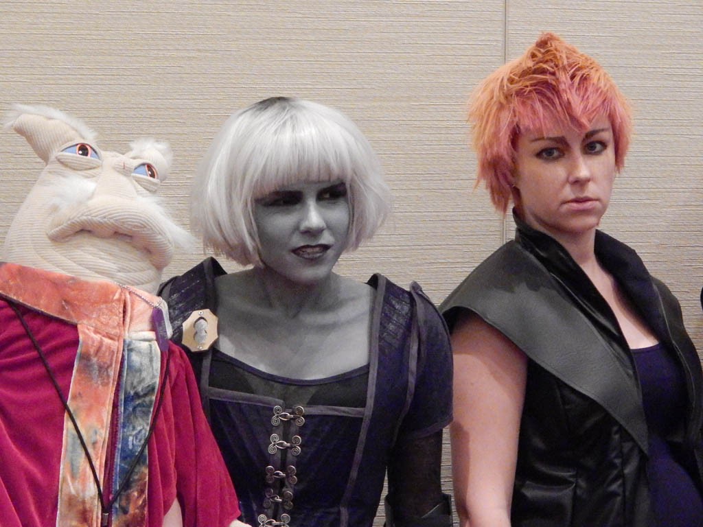 Rygel & Chiana from Farscape