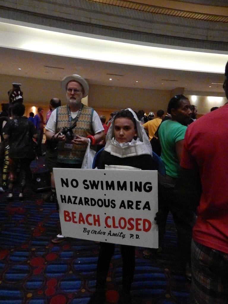 Beach Closed (Jaws)