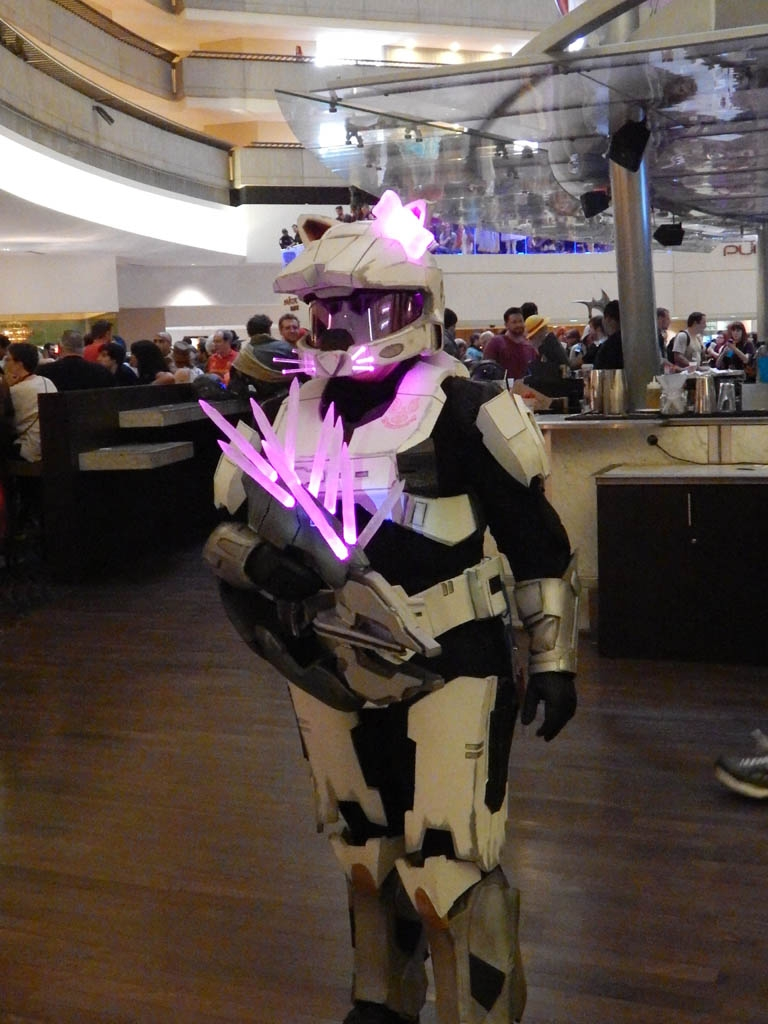 Neon Hello Kitty Stormtrooper