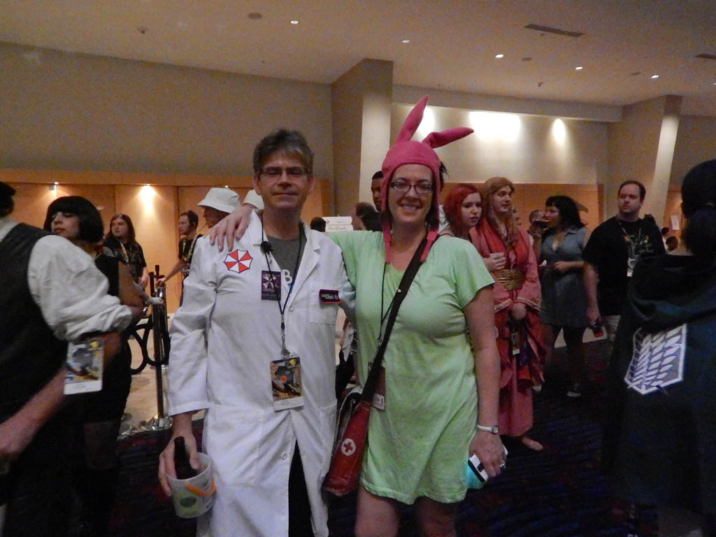 Zombie Doc & Louise from Bob's Burgers