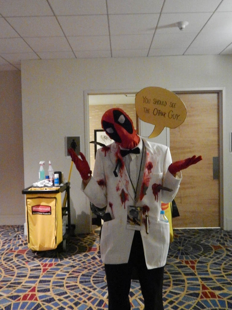 "Deadpool: ""You should see the other guy!"""