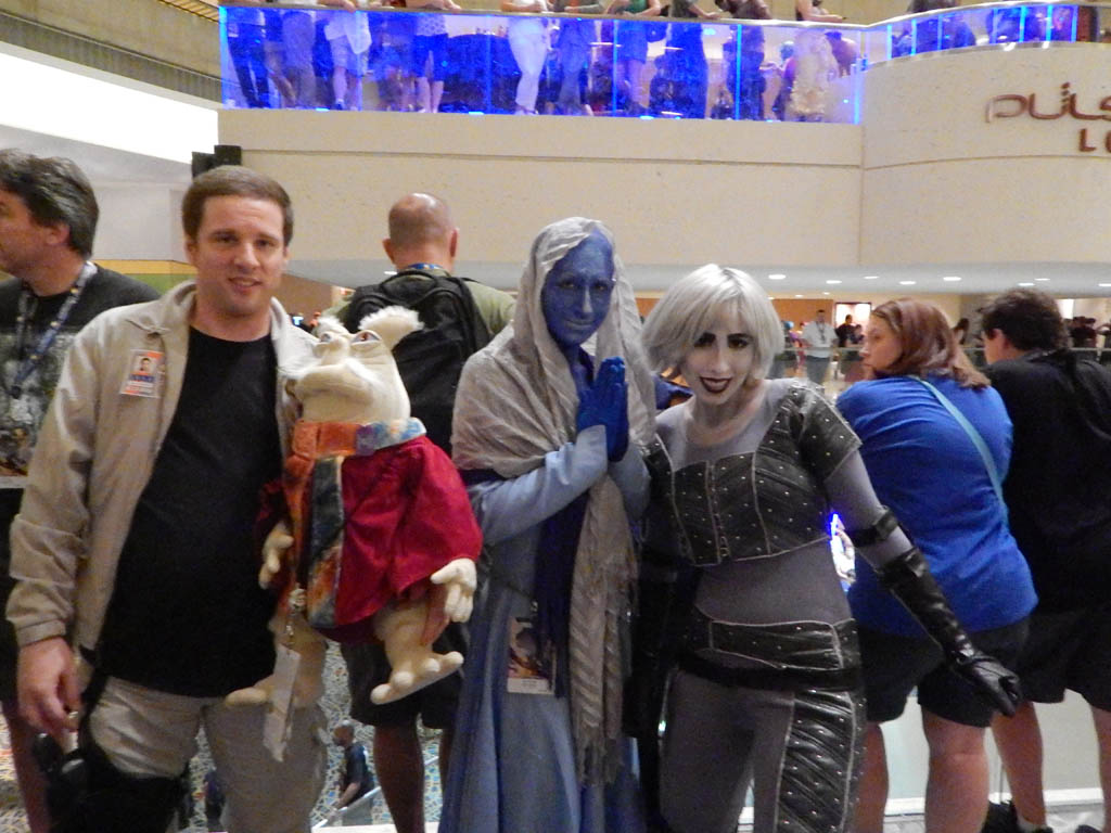 John, Rygel, Zann & Chiana from Farscape