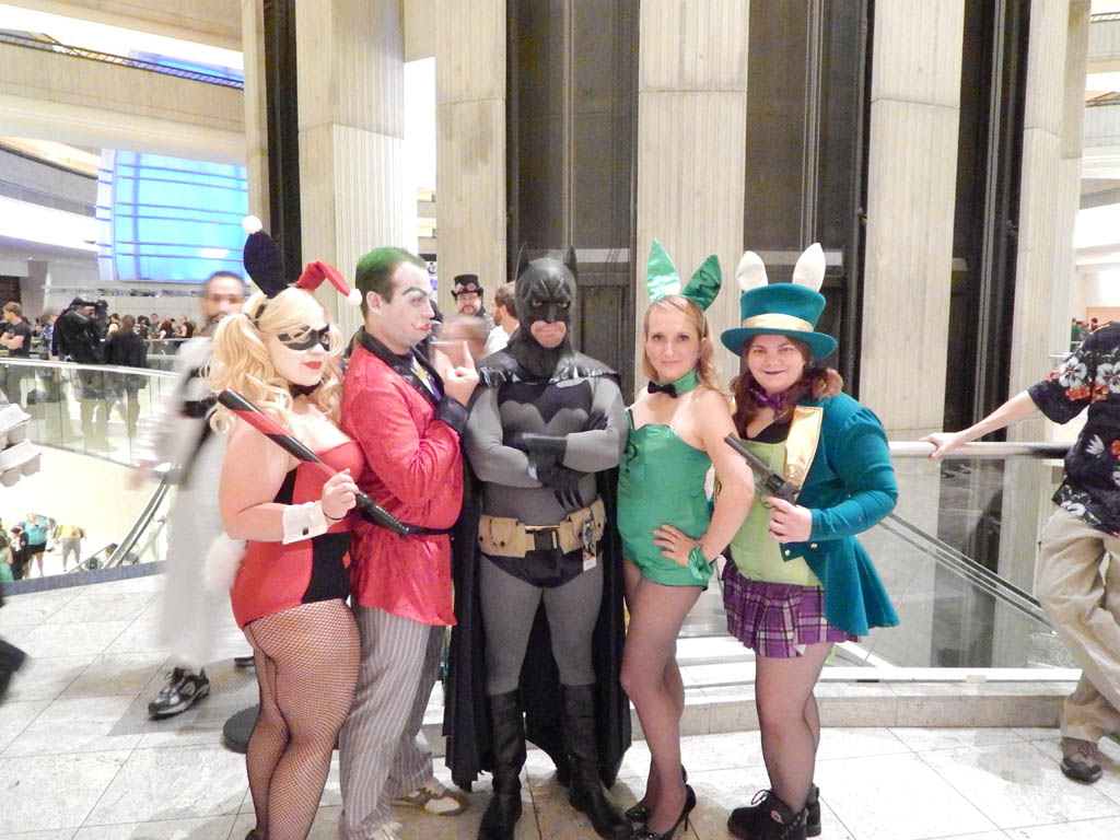 Batman with Joker & Bunnies