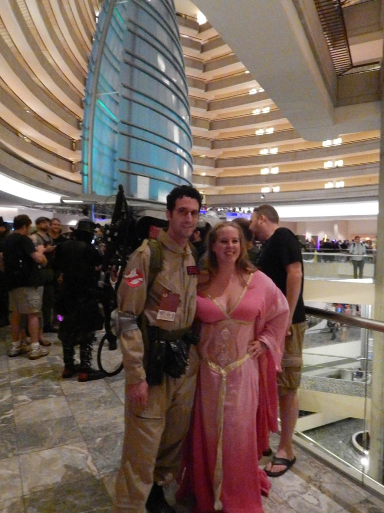 Ghostbuster & Belly Dancer