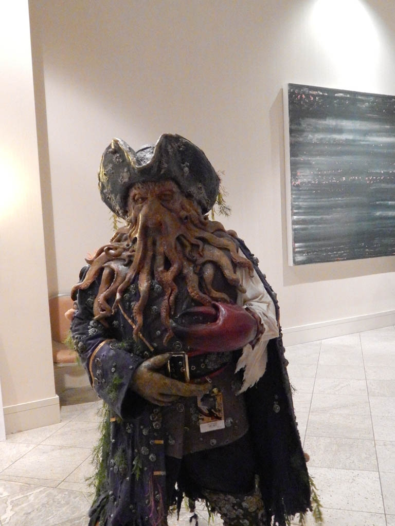 Davey Jones from Pirates of the Carribean