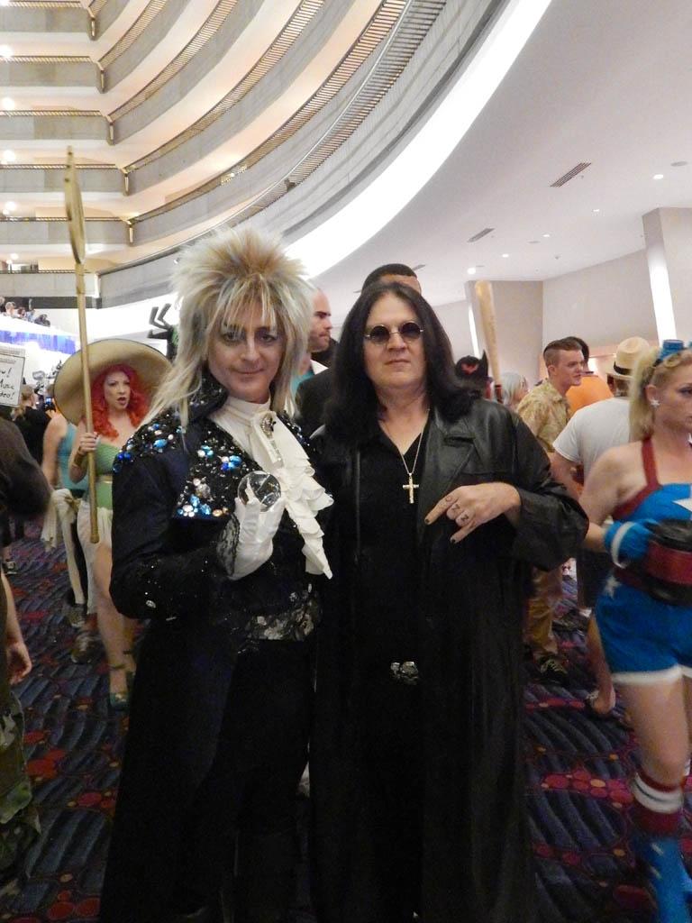David Bowie & Ozzy Osbourne