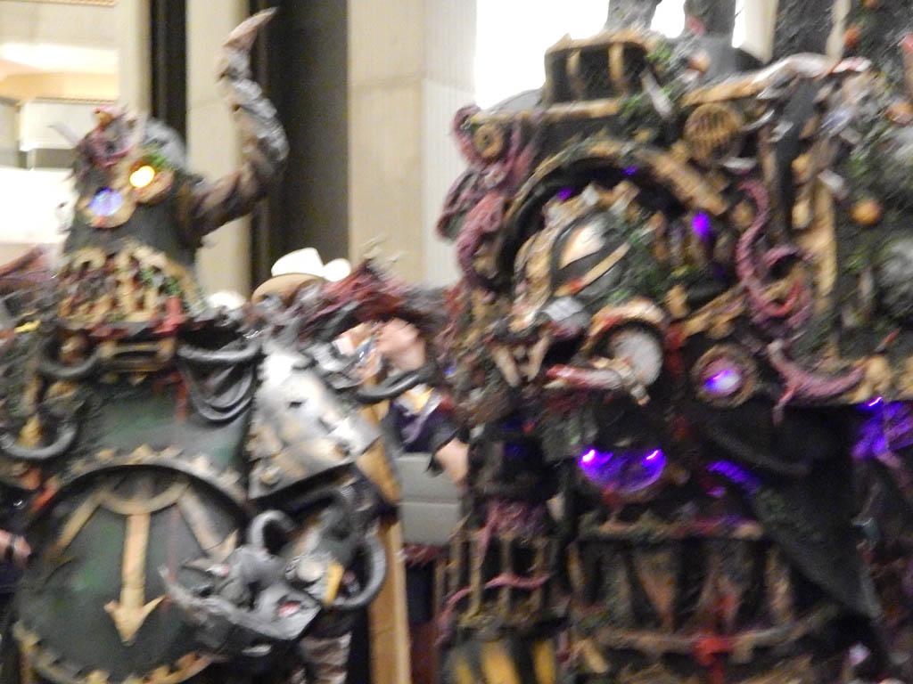 Big steampunky robots?