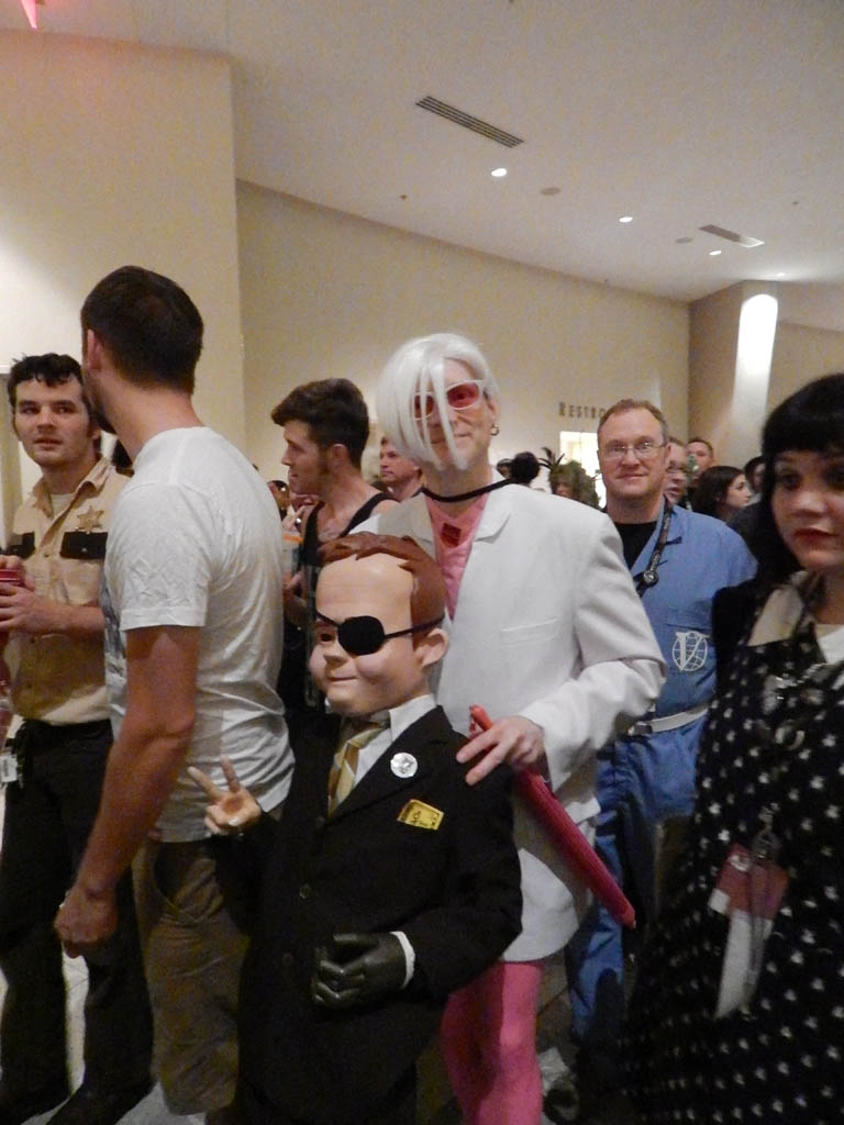 Giant Boy Detective & Mr White from Venture Brothers