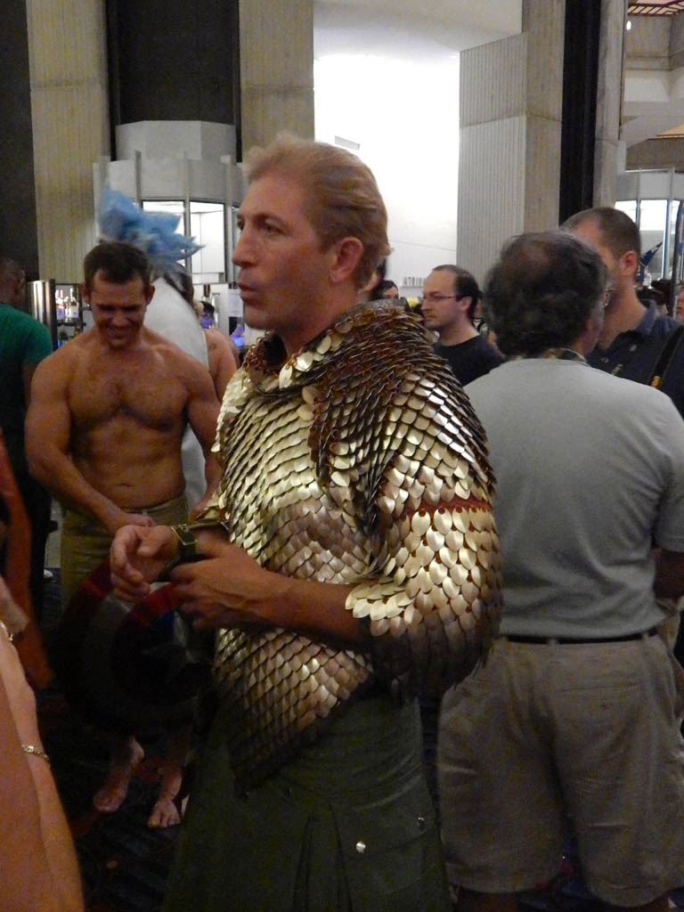 Scale maille shirt