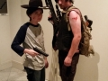Carl and Daryl from Walking Dead