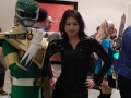 Green Power Ranger & Vampire Girl