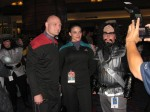 Me with Capt Picard and Jadzia Dax