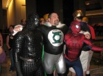 ???, Green Lantern and Spider Man