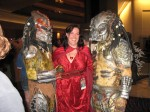 Val with a couple of Predators