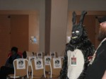 The rabbit from Donnie Darko