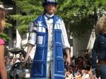 Human TARDIS (Dr Who)