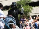 Tux Vader, toasting