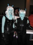 Andorian girls from Star Trek