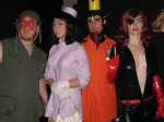 Sgt Hatred, Dr Girlfriend, the Monarch and Molotov Cocktease from the Venture Brothers