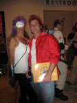 Leela and Fry from Futurama
