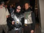 Me with a TOS Klingon