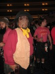 Worf as a cowboy from the Trek (TNG) episode A Fist Full of Datas