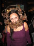A steampunk version of one of the traps in Saw? Or maybe 19th century orthodonture.