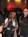 Capt., Jack Sparrow from Pirates of the Caribbean
