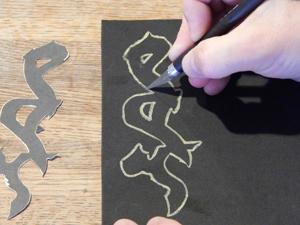 caligraphy cut 1