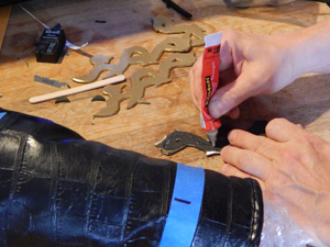 gluing caligraphy 1