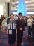 Tardis + the Doctor