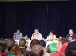 Phil LaMarr, Maurice LaMarche, Lauren Tom + John DiMaggio from Futurama