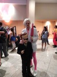 Pete White w/ Giant Boy Detective from Venture Brothers